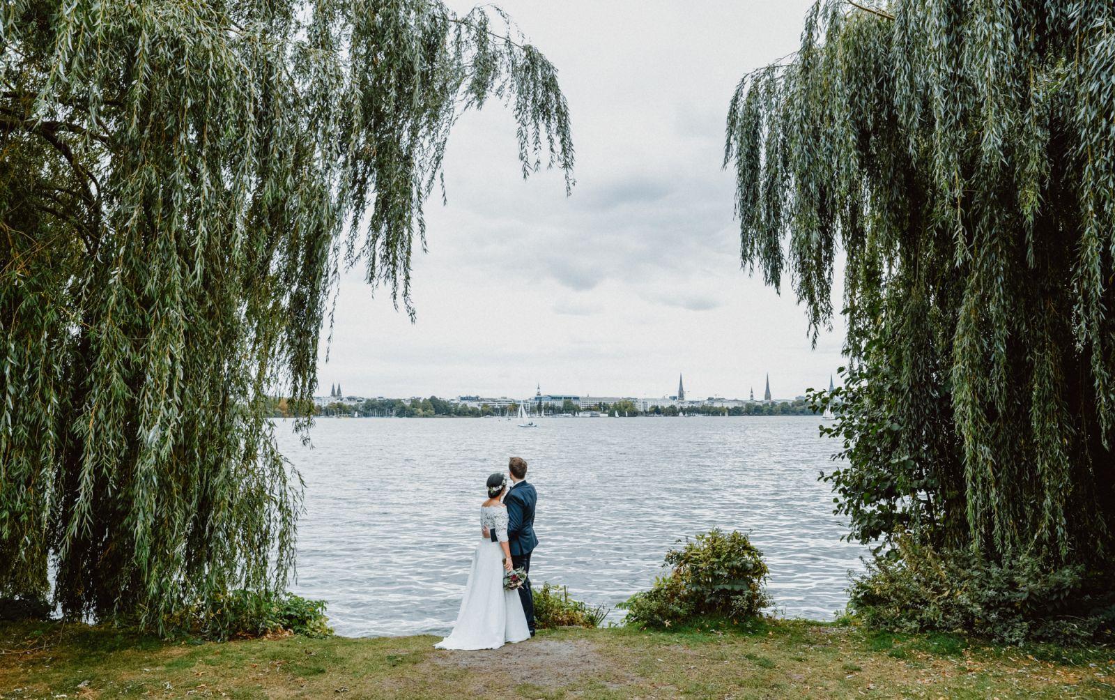 Hochzeit - Shooting - Hamburg - Alster